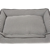 One Kings Lane - The Pet Shop - Houndstooth Lounge Bed