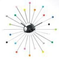 Karlsson Multi Colour Spider Clock | Clocks | Home Accessories | £45.99 - The Contemporary Home Online Shop