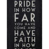 Long Black Sign Faith | Wall Art &amp; Signs | Home Accessories | 12.99 - The Contemporary Home Online Shop