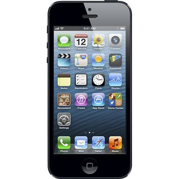 Apple® - iPhone® 5 with 64GB Memory Mobile Phone - Black & Slate (AT&T)