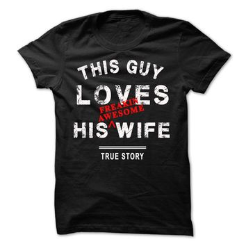 I love my wife tshirt