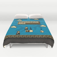 New Supernatural Bros. Duvet Cover by Byway