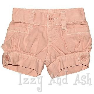 anthem of the ants blush denim bubble short - Izzy And Ash