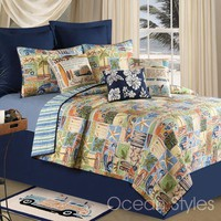 Surf Rider Deluxe Bedding Set | OceanStyles.com