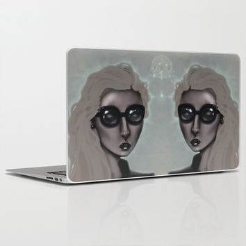 Shades with a Glow Laptop & iPad Skin by Ben Geiger