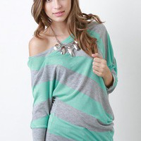 Slanted Charm Top
