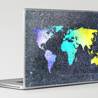 The World Belongs to you Laptop &amp; iPad Skin by  Bright Enough | Society6