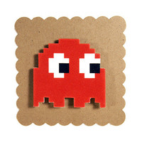 Pac-Man Chaser Shadow Magnet from Tiny Love Stories