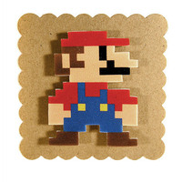Super Mario Magnet from Tiny Love Stories