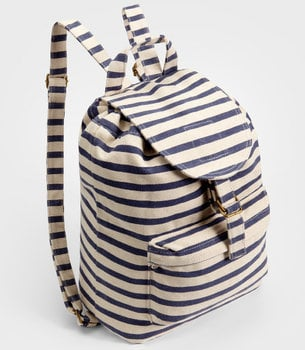Baggu Sailor Striped Backpack