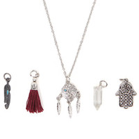 With Love From CA Dream Catcher Interchangeable Necklace Set at PacSun.com