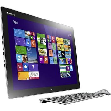 "Lenovo - Horizon II 27"" Portable Touch-Screen All-In-One Computer - 8GB Memory - 1TB Hard Drive - Silver/Black"