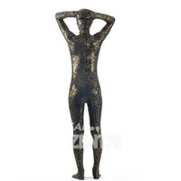 Halloween Full Body Fancy Dress Lycra Spandex Zentai Suits Black Gold Cosplay Costumes [L20120827] - 28.52 : Zentai, Sexy Lingerie, Zentai Suit, Chemise