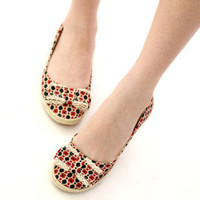 YESSTYLE: 59 Seconds- Polka-Dot Bow-Accent Flats - Free International Shipping on orders over $150