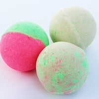 Watermelon Scented Bath Bomb Fizzy