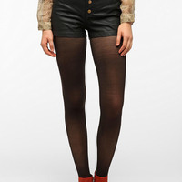 Silence & Noise High-Rise Faux Leather Short