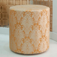 upholstered stool butternut - $0.00 : brocade home