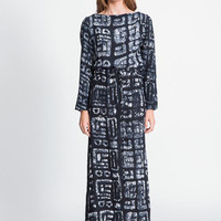Prorsum Dress in Black Native (Reg. $310)