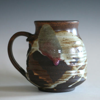 LARGE Coffee Mug, 20 oz, handmade ceramic cup, tea cup, coffee cup, handthrown ceramic stoneware pottery mug, unique coffee mug