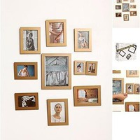 a set of 10 picture frames