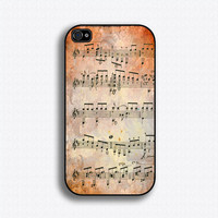 Mozart Sheet Music - iPhone 4 Case, iPhone 4s Case, iPhone 4 Hard Case, iPhone Case