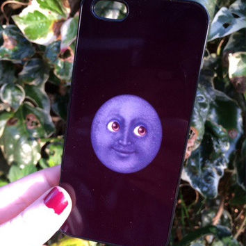 Iphone 6 Phone Case Emoji Moon Face Print Hipster Phone Cover