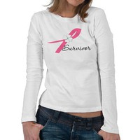 Breast Cancer Survivor Tees from Zazzle.com