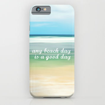 any beach day is a good day iPhone & iPod Case by Sylvia Cook Photography