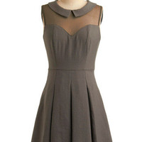An Educated Dress | Mod Retro Vintage Solid Dresses | ModCloth.com