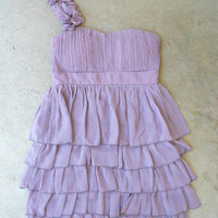 Falling Sweetly Dress in Lavender [2919] - $31.94 : Vintage Inspired Clothing &amp; Affordable Fall Frocks, deloom | Modern. Vintage. Crafted.