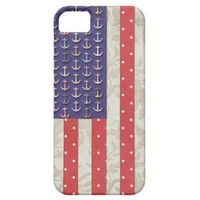 American flag, floral anchors, polka dots & damask iphone 5 cases from Zazzle.com
