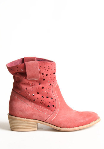 Falling Behind Cutout Boots - $110.00: ThreadSence, Women's Indie & Bohemian Clothing, Dresses, & Accessories