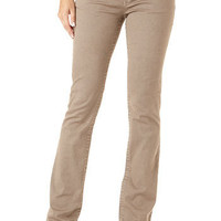 Stretch Twill Five-Pocket Bootcut Pant