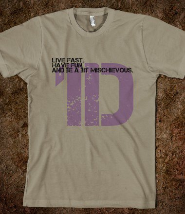 Organic 1D quote Tshirt - 0n3 Dir3cti0n Merchandise