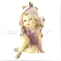 Resin Sitting Flower Fairy [UF-RHD076] - $7.00 : Ufingo, Unique and Creative Crafts&Gifts Shopping!