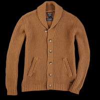 UNIONMADE - Woolrich John Rich & Bros. - Smith Cardigan in Mole Brown