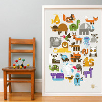 Wee Alphas Limited Edition Screen Print | Wee Society