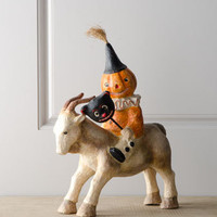 "Bethany Lowe ""Party Goater"" Halloween Figure - Horchow"
