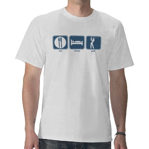 eat, sleep, golf tees from Zazzle.com