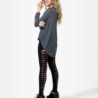 Tripp NYC Skin and Bones Leggings - Black Leggings