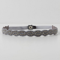 Jeweled Skinny Belt