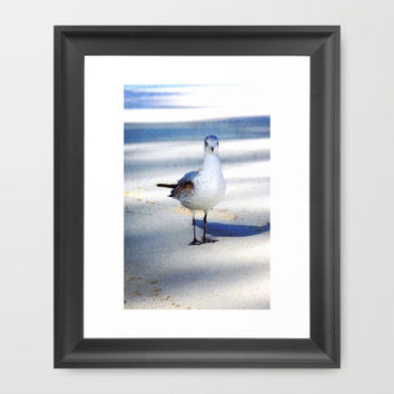 Here's Looking At You Framed Art Print by Bunhugger Design