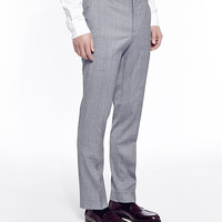 The Idle Man Suit Trousers in Skinny Fit - Grey