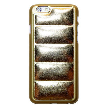 Gold Padded iPhone Case