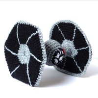 Star Wars Tie Fighter  - Star Wars Amigurumi -Toy
