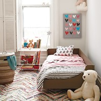 Kids Rugs: Multi-Color Chevron Rug in Patterned Rugs | The Land of Nod