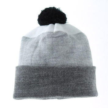 Unisex 3 Color Hat (Dark Gray - Gray - White) BASICS Collection For Men And Women, Worldwide Shipping Only 5.99
