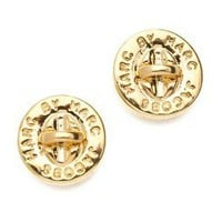 Marc by Marc Jacobs Turnlock Stud Earrings | SHOPBOP