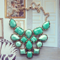 Pree Brulee - Green Himalaya Marble Necklace