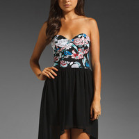 Motel Chika Dress in Andrea Floral from REVOLVEclothing.com